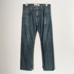 Levi's 514 Slim Straight Men's Blue Jeans 34X32